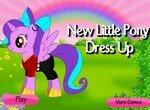 Подбери одежду для маленькой пони