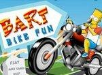 Симпсоны: Гонки на мотоцикле