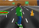 Гонка Бена 10 на скейте 3D