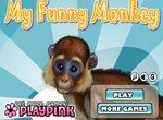 Моя прикольная обезьянка