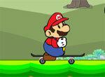 Марио катается на скейте