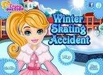 Зимнее происшествие на коньках