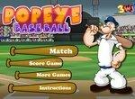 Бейсбол с моряком Папаем