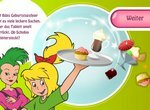Биби — маленькая волшебница: Официантка