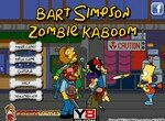 Барт Симпсон уничтожает зомби