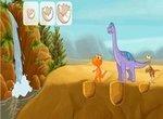 Поезд динозавров: На водопое