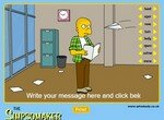 Придумай персонажа для Симпсонов
