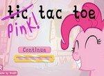 Обыграй Пинки Пай в крестики-нолики