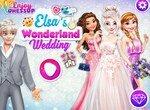 Свадьба Эльзы в стране чудес