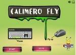 Цыпленок Калимеро летает на самолете