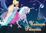 Одевалка: Принцесса и единорог