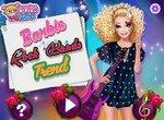 Одень Барби в рок стиле