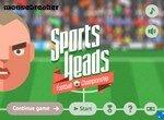 Футбольные спортивные головы
