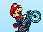 Супер мотоциклист Марио