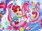 Принцесса Ариэль: Шестиугольный пазл