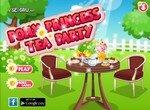 Чайная вечеринка пони принцессы