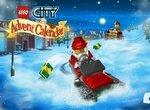Лего Сити: Гонки на снегоходах