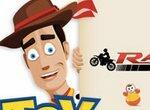 История игрушек: Вуди на мотоцикле