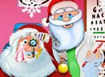 Новый год: Санта у врача окулиста