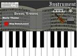 Учимся и играем на виртуальном пианино
