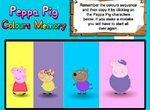 Свинка Пеппа: Цветные карточки