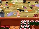 Уборка в суши-баре
