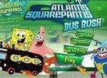 Губка Боб путешествует на автобусе
