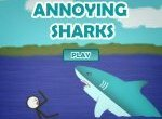 Нападение надоедливых  акул