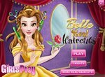 Прическа для диснеевской принцессы Белль