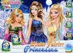 Принцессы Диснея в образе зимних фей