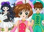 Аниме: Наряды для Сакуры и ее друзей