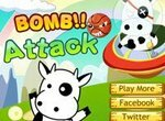Супер Корова: Атака бомбами