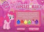 Пинки Пай собирает цветные кексы