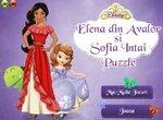 Пазлы с принцессами Софией и Еленой