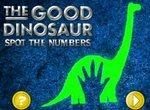 Хороший динозавр: Найди цифры