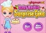 Малышка Барби: Праздничный торт