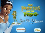 Принцесса и лягушка: Найди 6 отличий