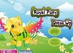 Королевская пони в новой одежде