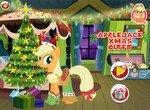 Эпплджек встречает новый год