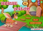 Салон красоты для милых лошадок