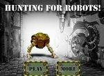 Оборона золотого рудника от роботов