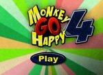 Счастливая веселая обезьянка 4