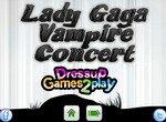 Концерт Леди Гага в образе вампира