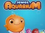 Три аквариумные рыбки в ряд