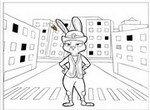 Зверополис: Раскраска с Джуди Хопс