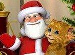 Говорящий Рыжик с Санта-Клаусом