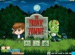 Ироничный зомби и человек