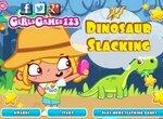 Безделье: Сара в парке динозавров