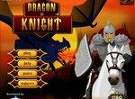 Рыцарь на белом коне против дракона