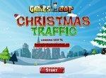 Сумасшедший трафик в Рождество